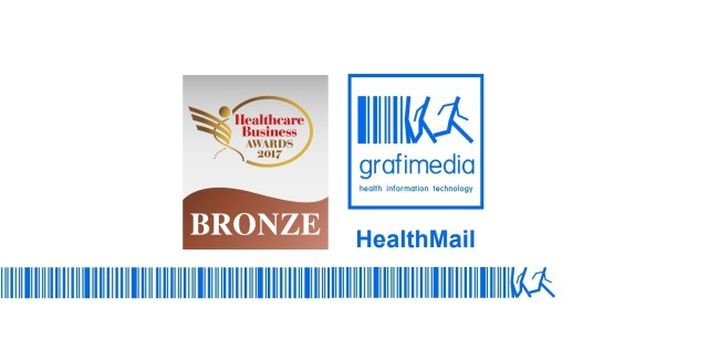 Grafimedia received Bronze Award for HealthMail App at the eHealth category nominations by the Healthcare Business Awards 2017