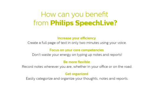 Work From Anywhere With Philips Speech Live