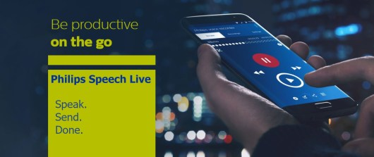 Reduce Document Creation Times With Philips Speech Live