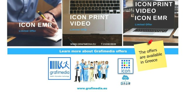 Grafimedia SaaS Health IT Offers in Greece. Call now 2103819939.