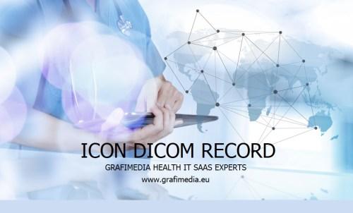 ICON DICOM RECORD by Grafimedia Digital Health SaaS Experts