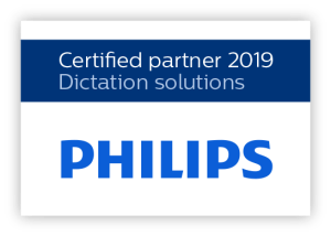Philips Dictation Certified Partner 2019