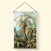 Textielposter old jungle