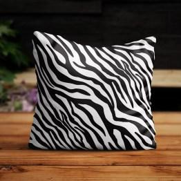 Buitenkussen zebra print