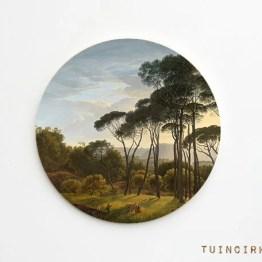 Tuincirkel italiaans landschap