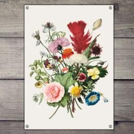 Tuinposter bloemen