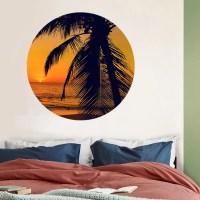 Behangcirkel sunset