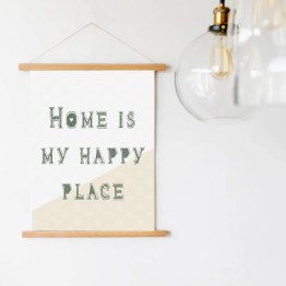 Wandhanger happy home