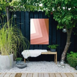 Tuinposter pink