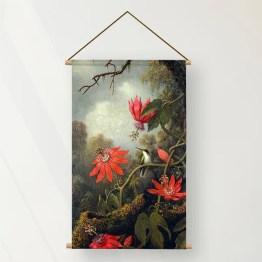 Textielposter Passionflowers