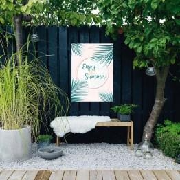 enjoy summer tuinposter