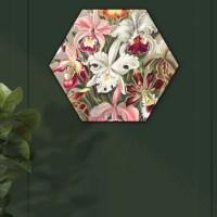 Hexagon de bloemen