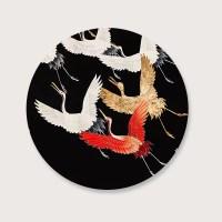 Muurcirkel Kraanvogel