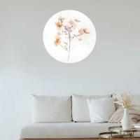 Cosy flower muurcirkel