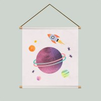 Kids poster space