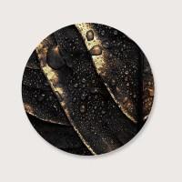Muurcirkel gold leaf