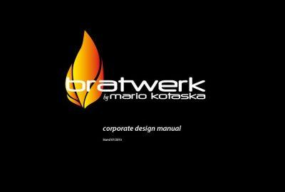 bratwerk by Mario Kotaska Corporate Design Manual