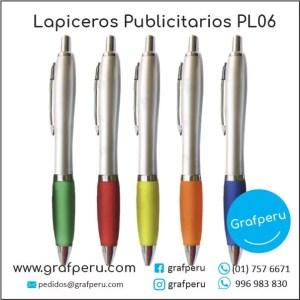 LAPICEROS PUBLICITARIOS CORPORATIVO 06 LOGO ECOLOGICOS BARATOS ECONOMICOS GRAFPERU LIMA PERU