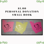 $1 donation - small book