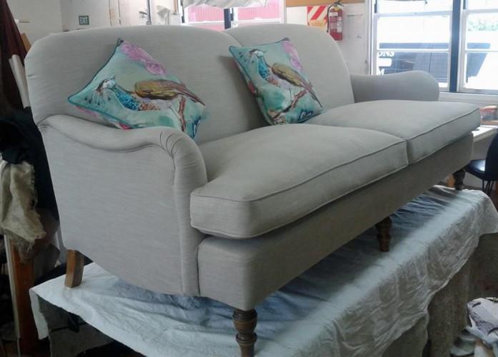 A custom made settee, built from scratch