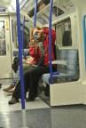Jenny on the tube.