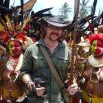 Graham Hughes in Papua New Guinea