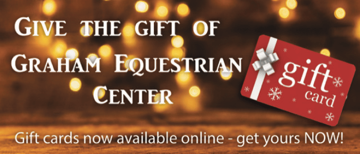 Buy a Graham Equestrian Center Gift Card
