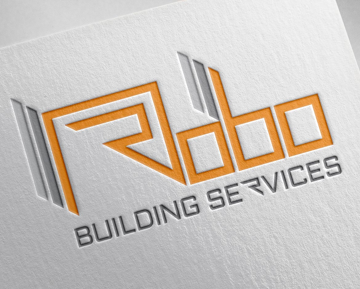 Graham Nichols Design - Graphic Design Portfolio - Logo Design - Robo Building Services - 01