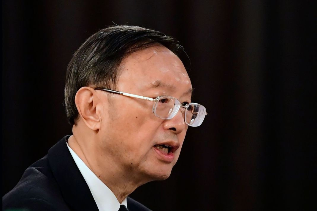 TOP CHINA DIPLOMAT IN SECURITY TALKS WITH RUSSIA