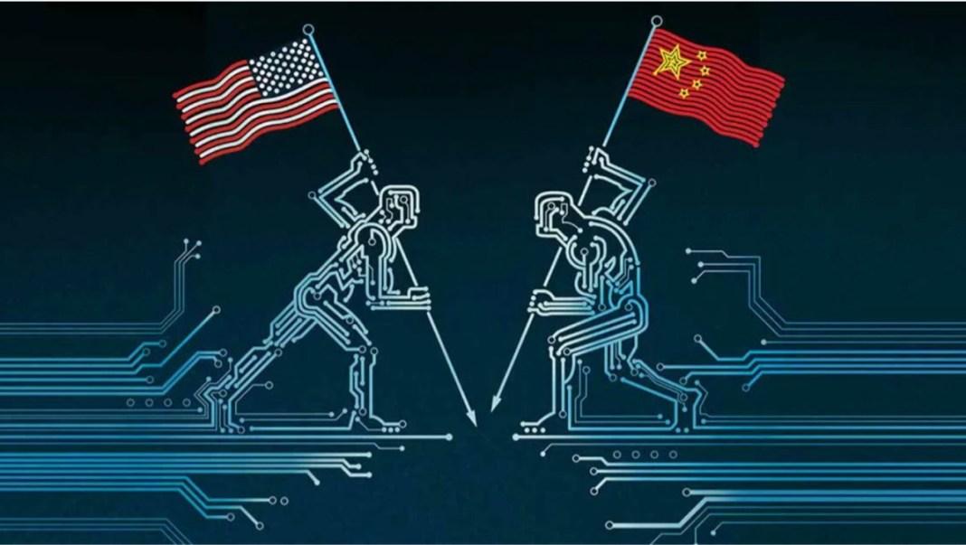 US-CHINA TECH WAR HOTS UP