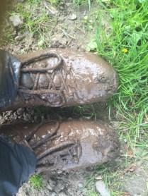 a tad muddy