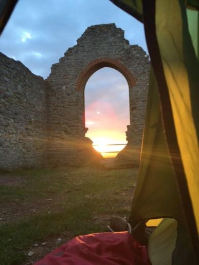 Sunrise on the Mump