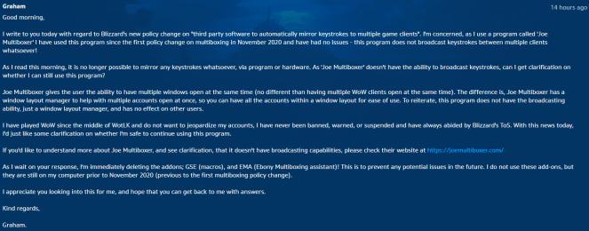 Blizzard's Support Ticket (1)