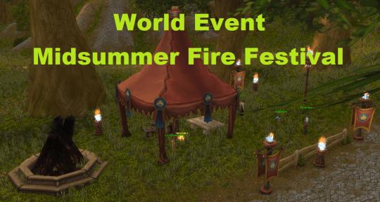 World Event: Midsummer Fire Festival