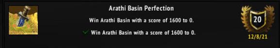 Achievement: Arathi Basin Perfection