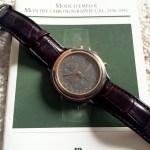 Audemars Piguet Huitieme Chronograph: Tantalum and Gold