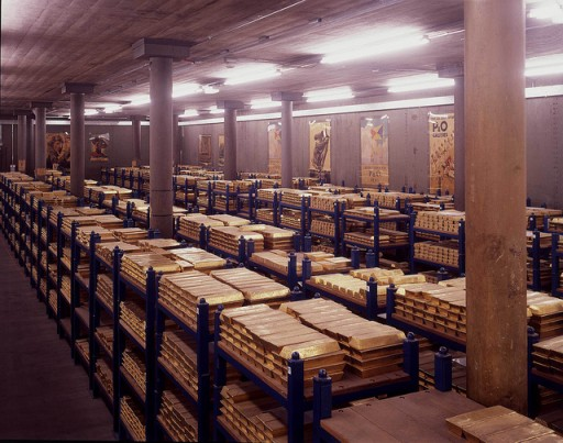 Apple probably doesn't want to reconfigure their stored to resemble the Bank of England gold vaults!