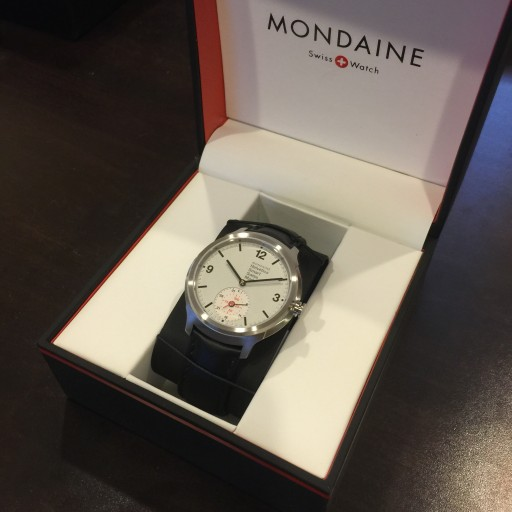 "Here's the first ""Swiss Horological Smart Watch"", the Mondaine Helvetica Smart"