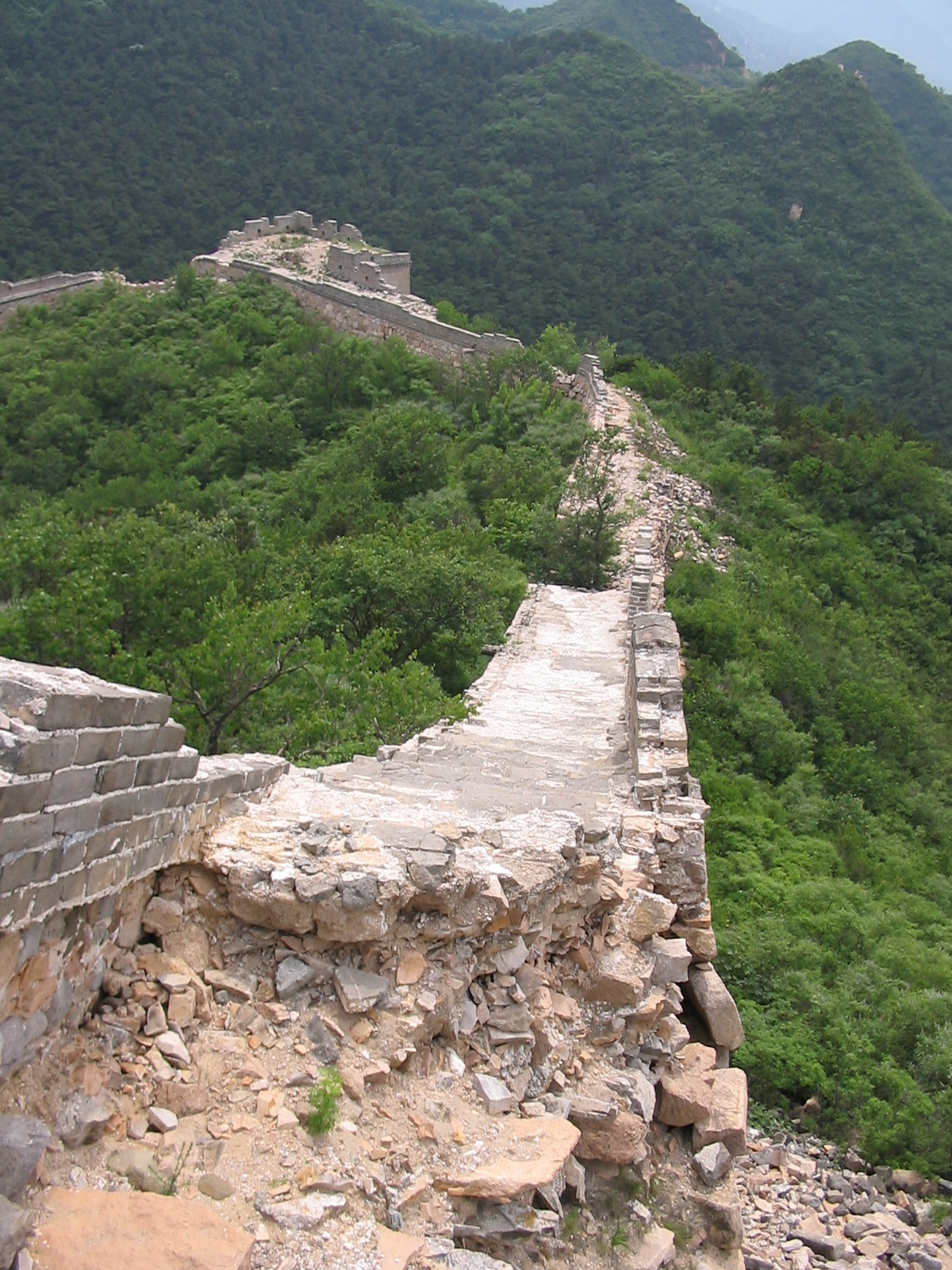 The Great Wall Of China Before Modern Restorations