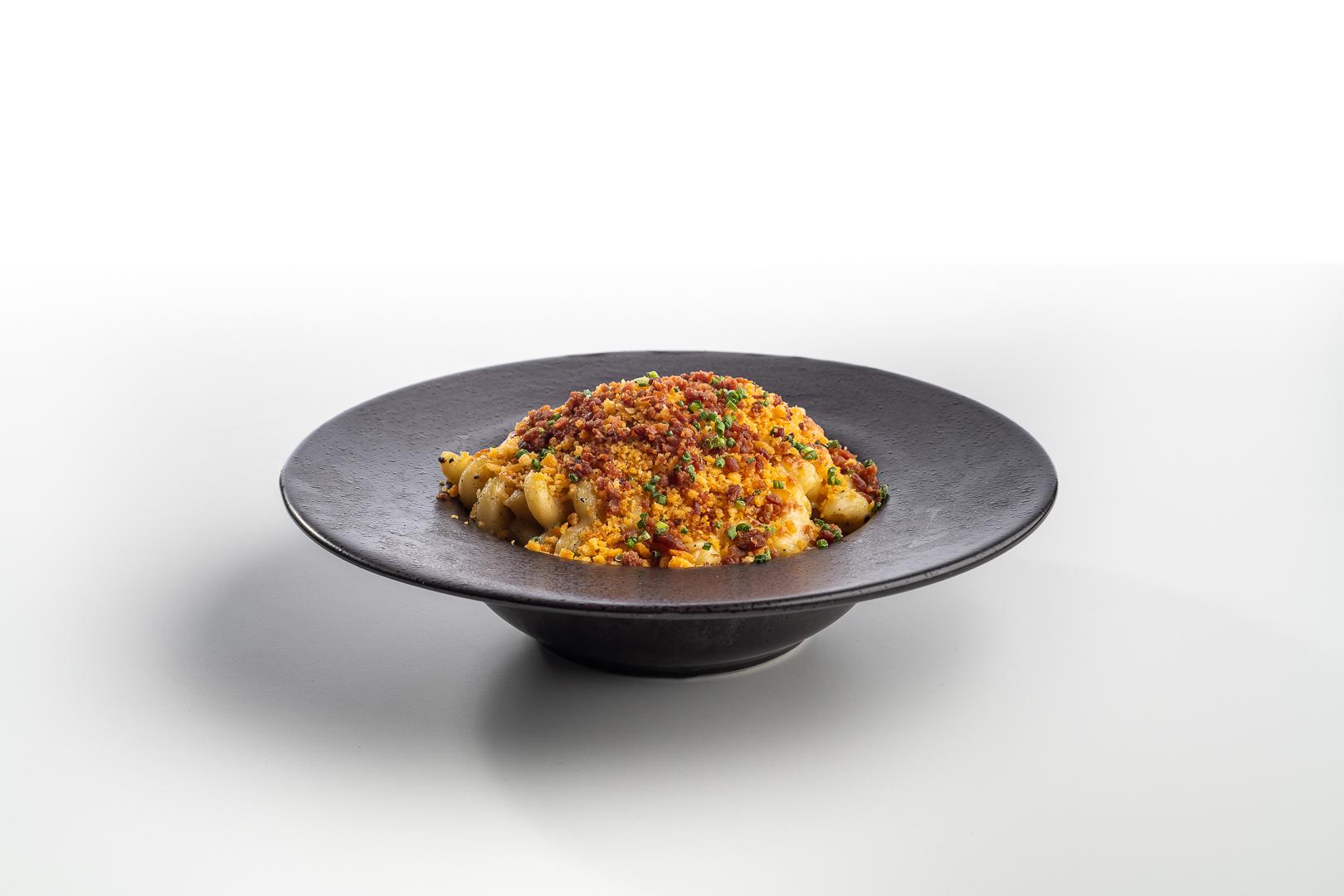 Charred Cauliflower Mac & Cheese