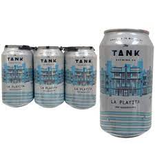 La Playita  I  Pilsner  I  5.1% ABV  I  Tank