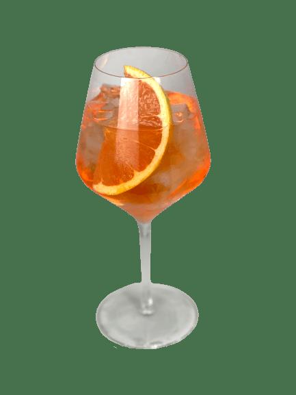 Grapefruit & Rose Aperol Spritz