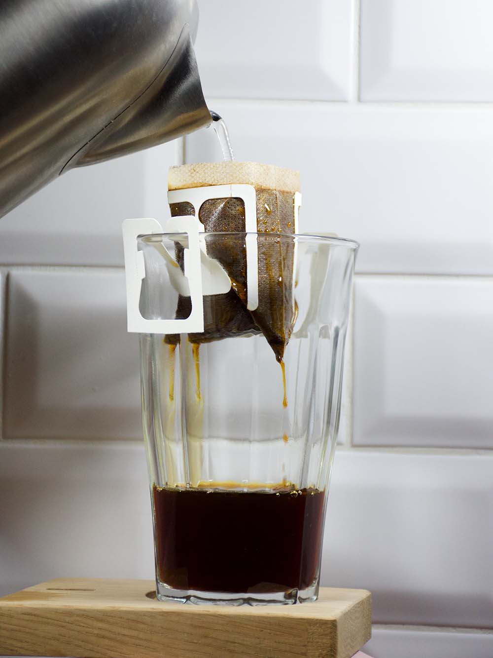 Préparation d'un café avec le kit Grainbow