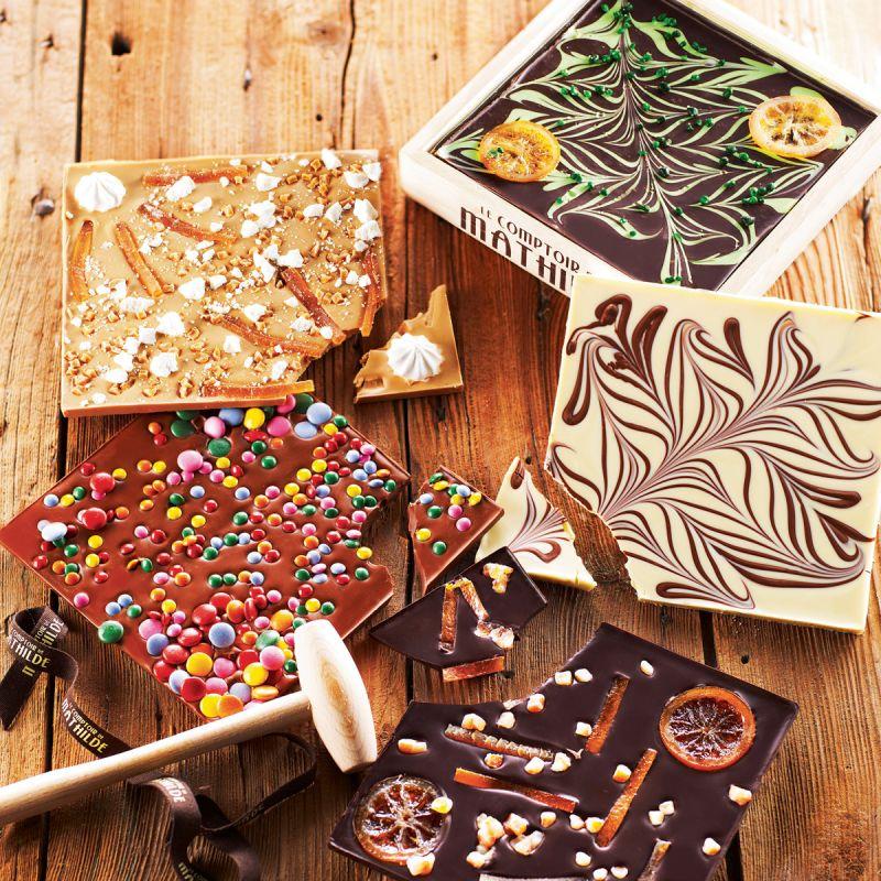 chocolat a casser surprise partie le comptoir de mathilde