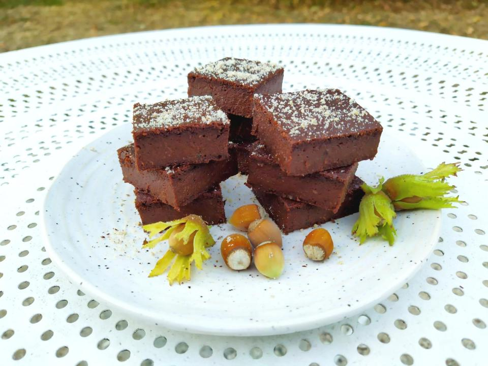 Brownie à la courgette { vegan }