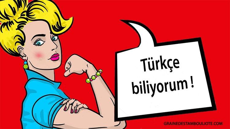 apprendre le B-A-BA de la langue turque, histoire de la langue turque et premiers mots et phrases de turc