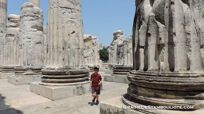 cite antique de didymes temps d'Apollon en Turquie