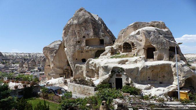 Hôtel troglodyte Amber Cave Suites à Göreme Cappadoce Turquie