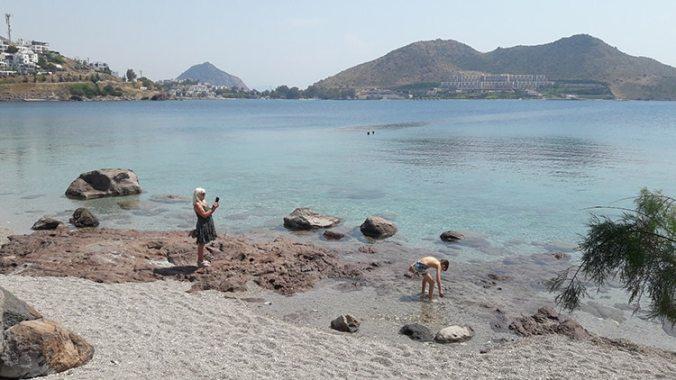 plage de la péninsule de bodrum en turquie
