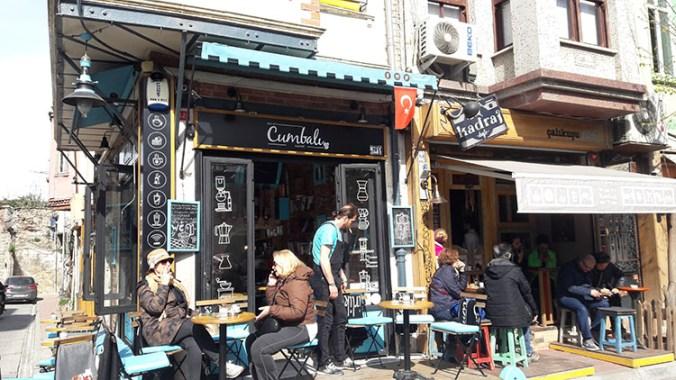 rues de Fener et Balat à Istanbul Turquie